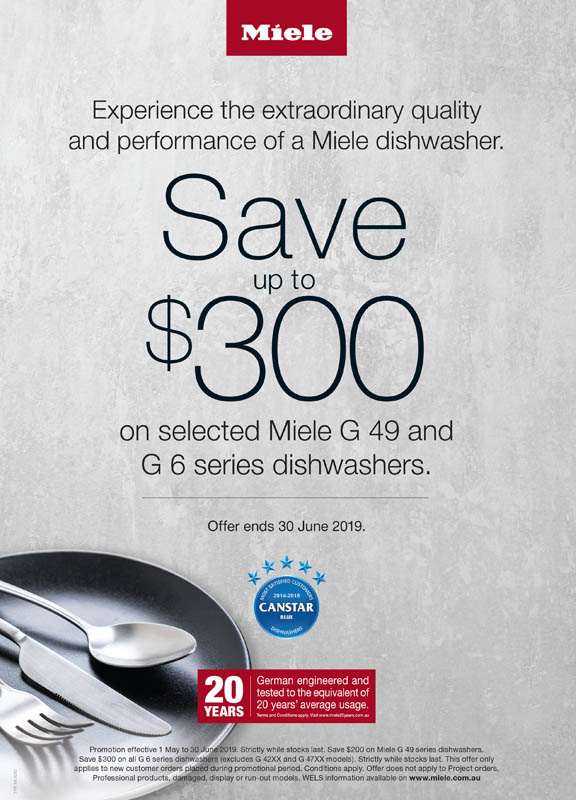 miele save up to 300 on dishwashers