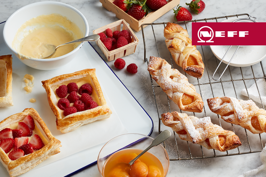 Apricot danishes by NEFF - Brisbane Appliance Sales