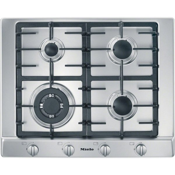Miele KM 2012 G Stainless steel gas cooktop