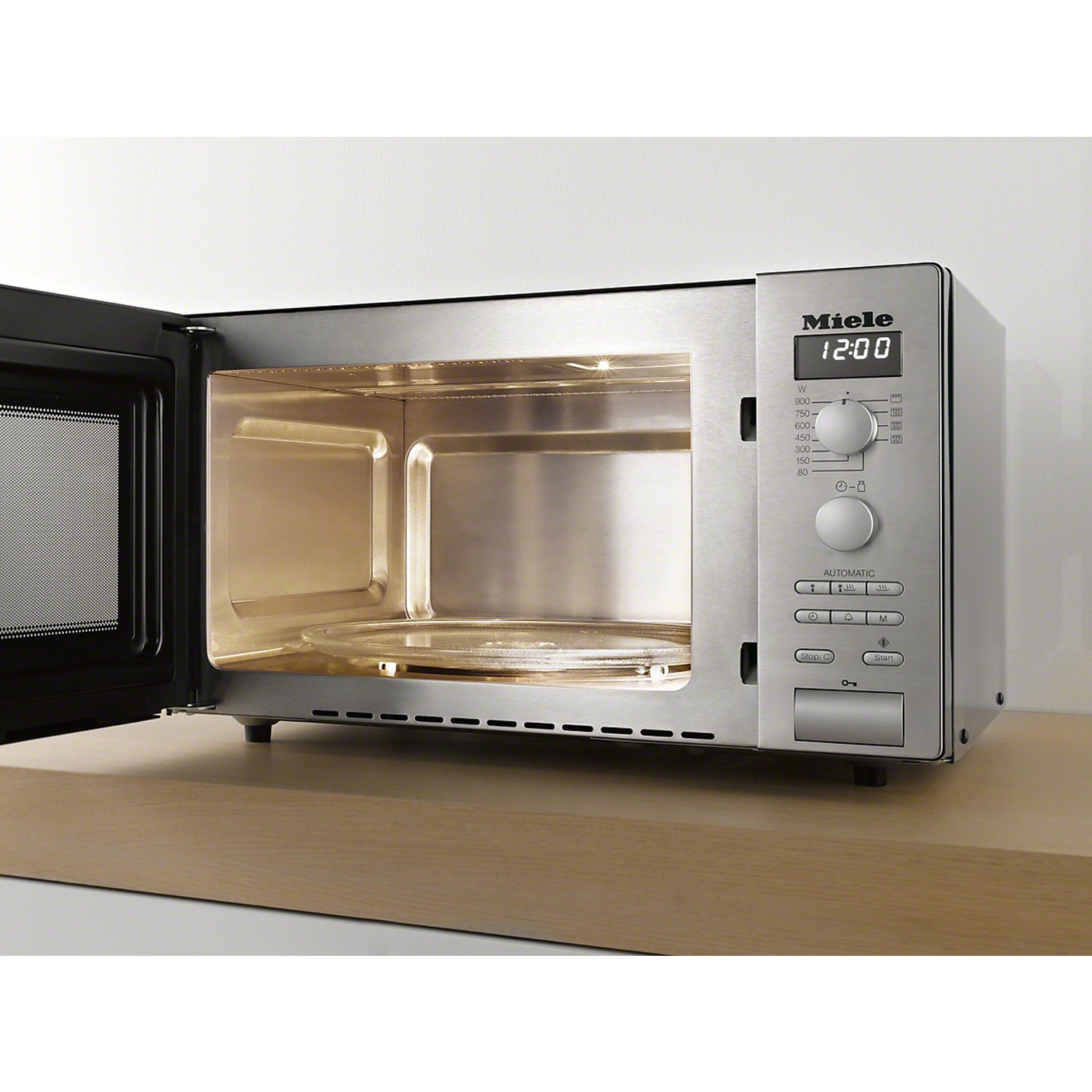 Miele M 6012 C/S MICROWAVE OVEN FREESTANDING