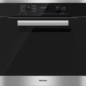Miele H 6260 BP CleanSteel 60cm wide oven