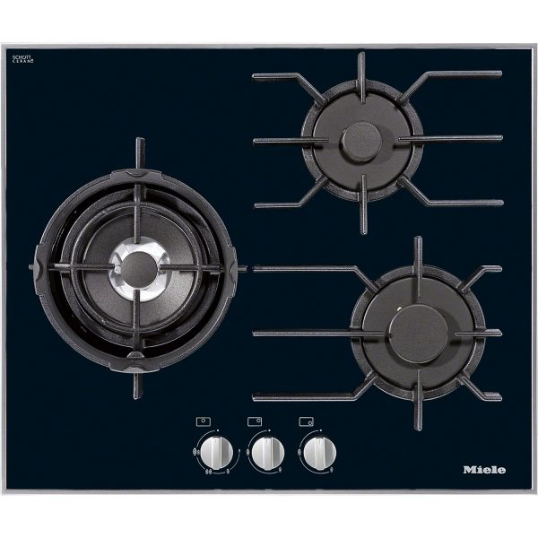 Miele KM 3014 Stainless steel gas cooktop