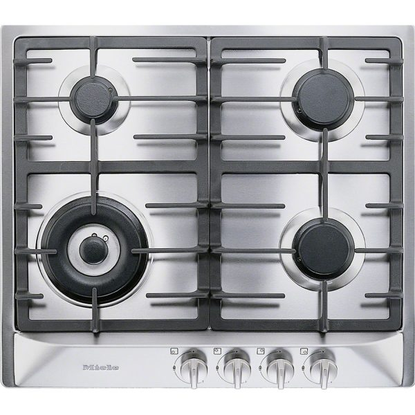 Miele KM 362-1 G Stainless steel gas cooktop