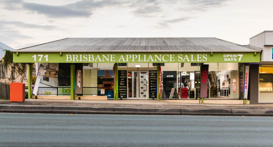 Brisbane Appliance Sales front of the store