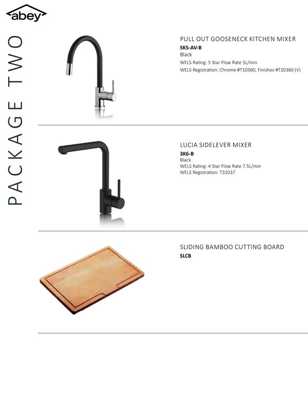 Abey Kitchen Package 2