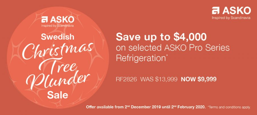 Save up to $4000 on ASKO Pro Series Refrigeration