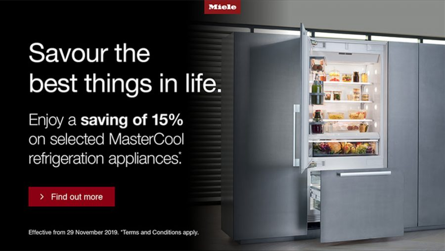 15% on selected Miele MasterCool