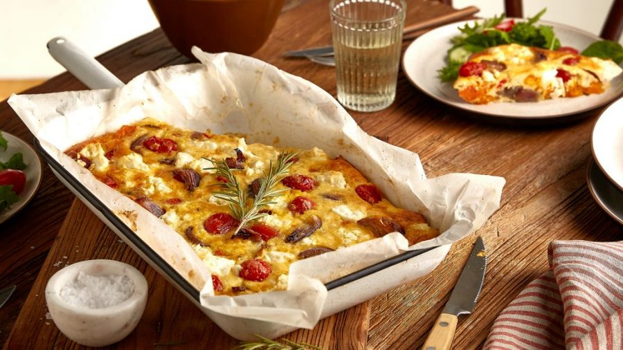 Neff Roasted vegetable frittata