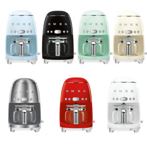 Smeg CFG01 Drip Coffee Machine various colours