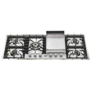 Ilve HP125FDT Gas Cooktop with Teppanyaki