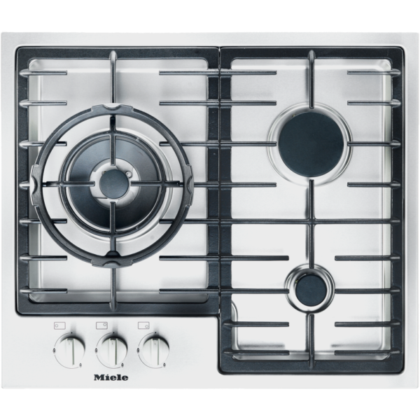 Miele KM 2312 G Stainless steel gas cooktop