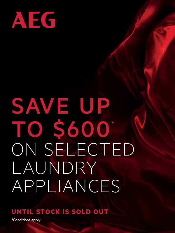 SAVE UP TO $600 ON SELECTED LAUNDRY APPLIANCES