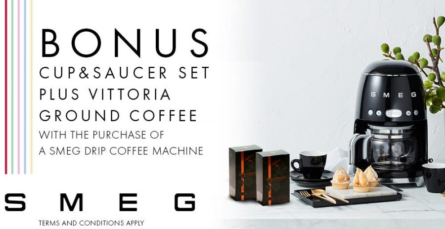 Smeg Drip Coffee Bonus