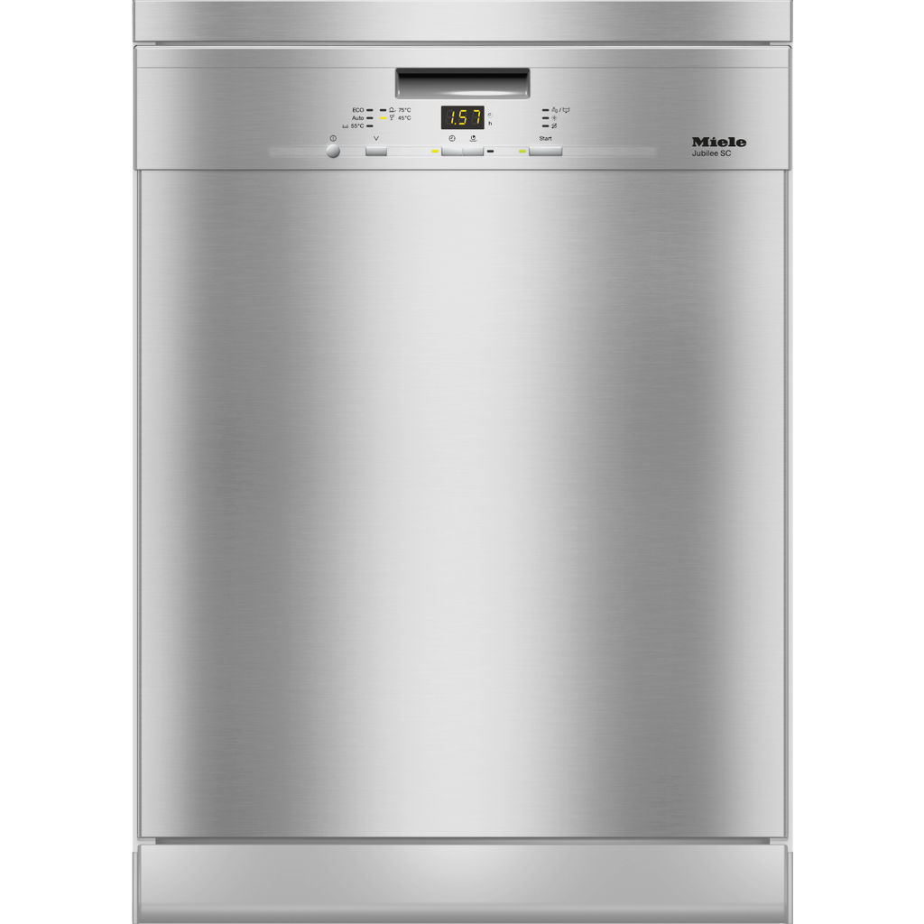 Miele G 4930 SC CLST CleanSteel Freestanding Dishwasher 60CM wide